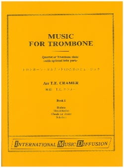 Music For Trombone Volume 1 Partition Trombone - laflutedepan