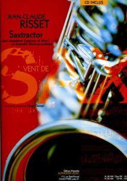 Saxtractor Jean-Claude Risset Partition Saxophone - laflutedepan