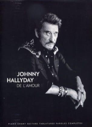 De L'Amour - Johnny Hallyday - Partition - laflutedepan.com