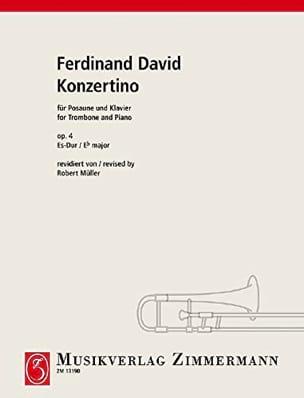 Konzertino Opus 4 In Es-Dur Ferdinand David Partition laflutedepan