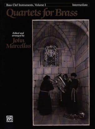 Quartets For Brass Bass Clef Volume 1 - Intermediate laflutedepan