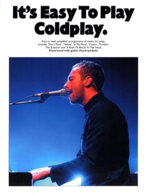 Coldplay - Es ist einfach Coldplay zu spielen - Partition - di-arezzo.de