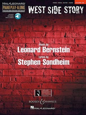 Piano Play-Along Volume 130 West Side Story laflutedepan
