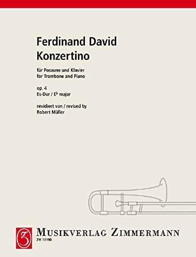 Konzertino Opus 4 In Es-Dur - Ferdinand David - laflutedepan.com