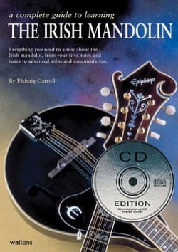 The Irish Mandolin Carroll Padraig Partition Mandoline - laflutedepan