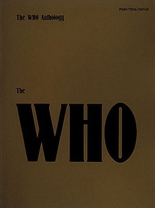 The Who Anthology The Who Partition Pop / Rock - laflutedepan