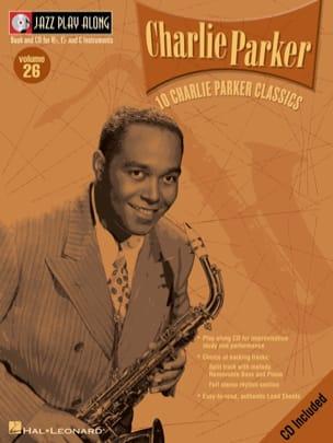 Jazz play-along volume 26 - Charlie Parker Charlie Parker laflutedepan