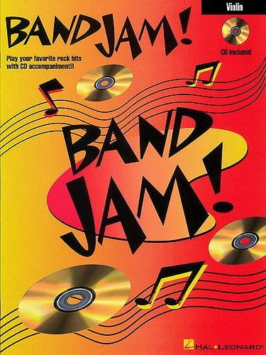 Band Jam - Partition - Violon - laflutedepan.com
