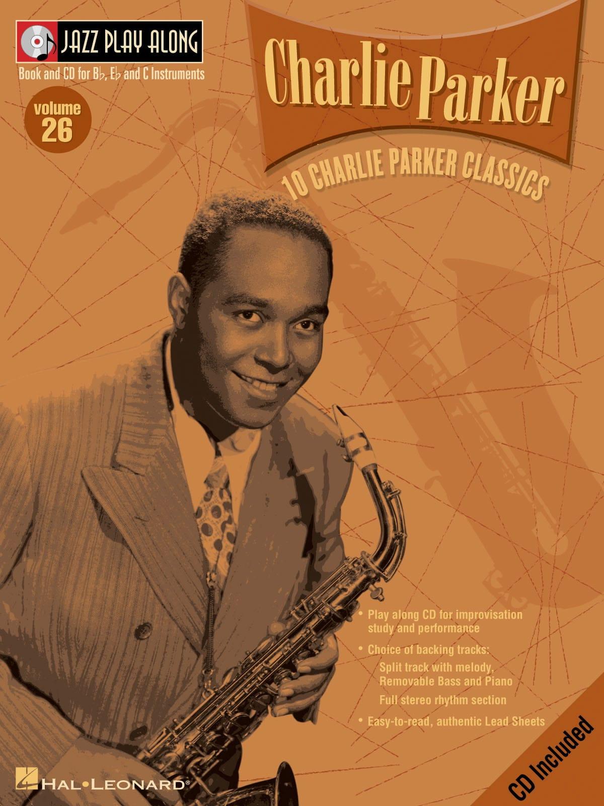 Jazz play-along volume 26 - Charlie Parker - laflutedepan.com