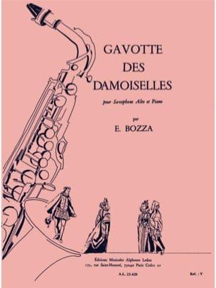 Gavotte Des Damoiselles - Eugène Bozza - Partition - laflutedepan.com
