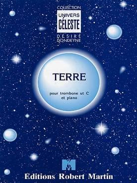 Terre Désiré Dondeyne Partition Trombone - laflutedepan
