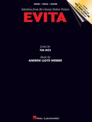 Andrew Lloyd Webber - Evita - Partition - di-arezzo.co.uk