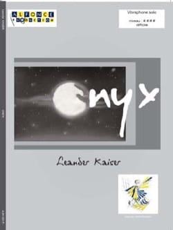 Onyx - Leander Kaiser - Partition - Vibraphone - laflutedepan.com