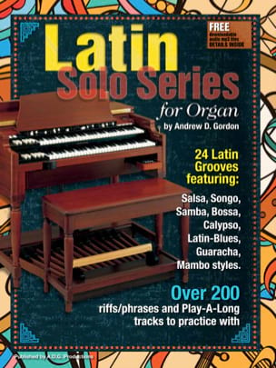 Latin Solo Series for Organ Andrew D. Gordon Partition laflutedepan