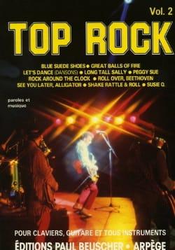 Top Rock Volume 2 Partition Chanson française - laflutedepan