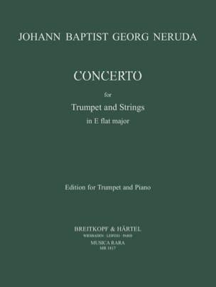 Concerto In Eb J.G.B. Neruda Partition Trompette - laflutedepan