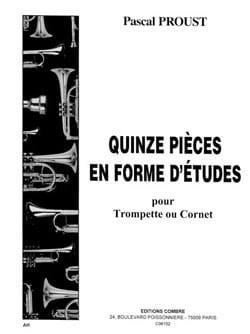 15 pièces en forme d'études Pascal Proust Partition laflutedepan