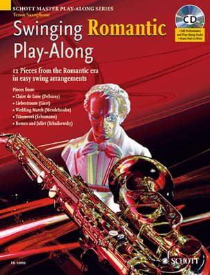 Swinging Romantic Play-Along Partition Saxophone - laflutedepan