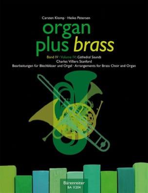 Organ Plus Brass Volume 4 - Cathedral Sounds - laflutedepan.com