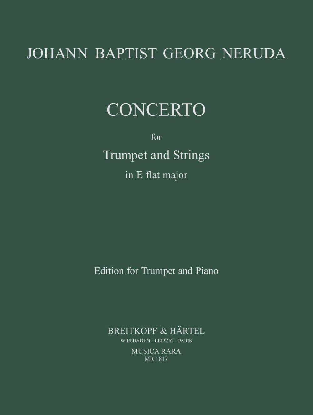 Concerto In Eb - J.G.B. Neruda - Partition - laflutedepan.com