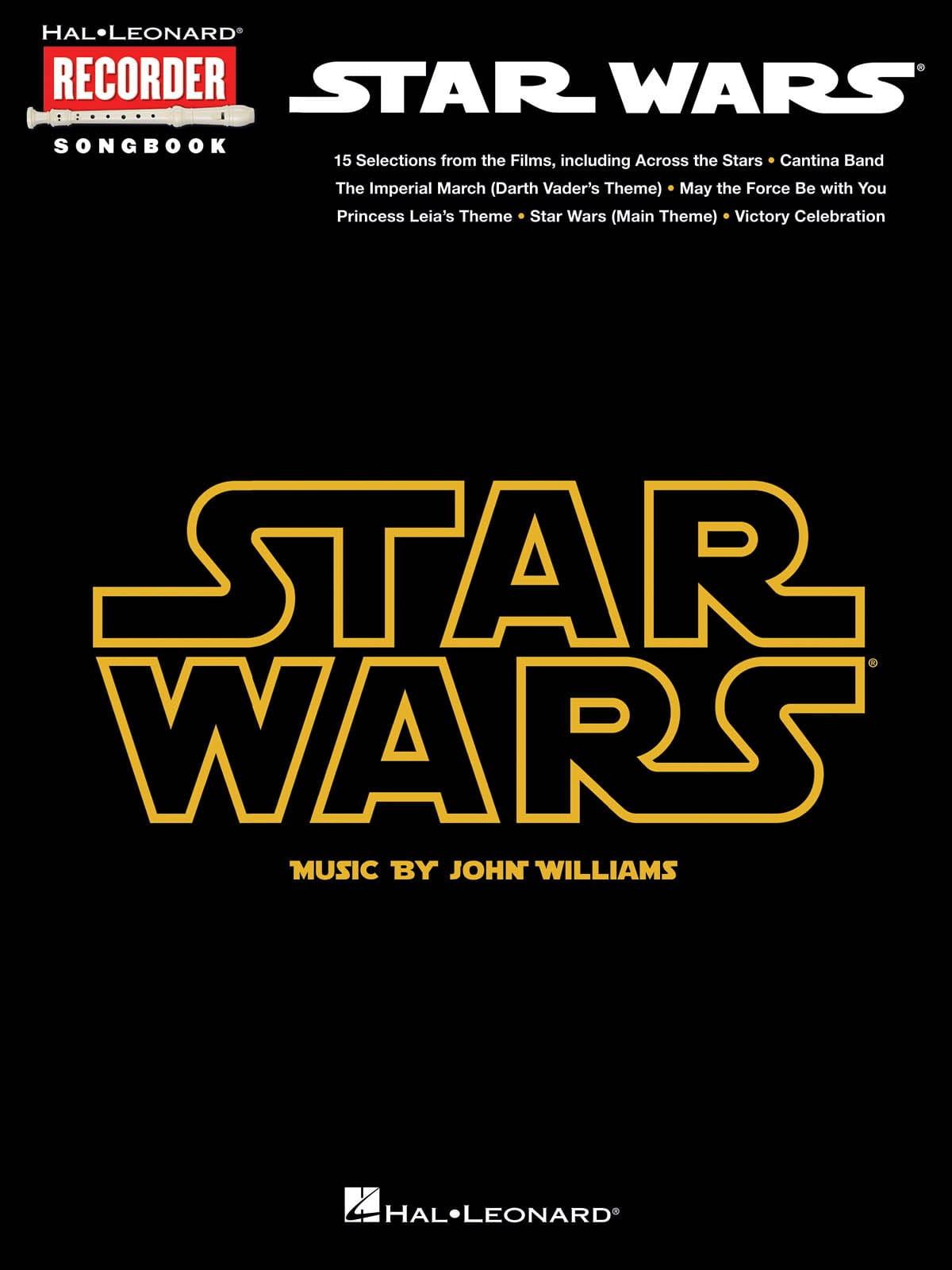 Star Wars - Recorder Songbook - John Williams - laflutedepan.com