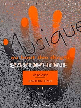 Air de Valse Jean-Louis Delage Partition Saxophone - laflutedepan