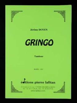 Gringo - Jérôme Doyen - Partition - Caisse-claire - laflutedepan.com