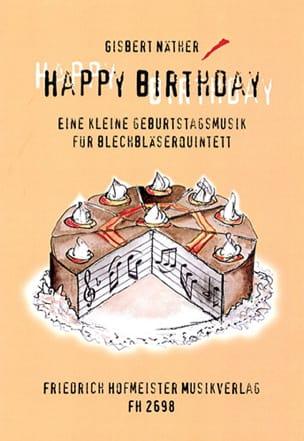 Happy Birthday Partition Ensemble de cuivres - laflutedepan