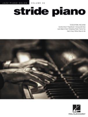 Jazz Piano Solos Series Volume 35 - Stride Piano laflutedepan