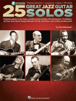 25 Great Jazz Guitar Solos - Partition - Jazz - laflutedepan.com