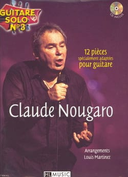 Claude Nougaro - Solo Guitar N ° 3 - 12 Specially Adapted Parts For Guitar - Partition - di-arezzo.com