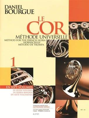 Le Cor Méthode Universelle Volume 1 Daniel Bourgue laflutedepan
