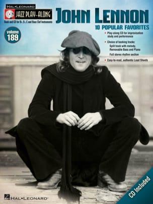 John Lennon - Jazz Play-Along Volume 189 - John Lennon - Partition - di-arezzo.com