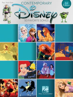 Contemporary Disney DISNEY Partition Musique de film - laflutedepan