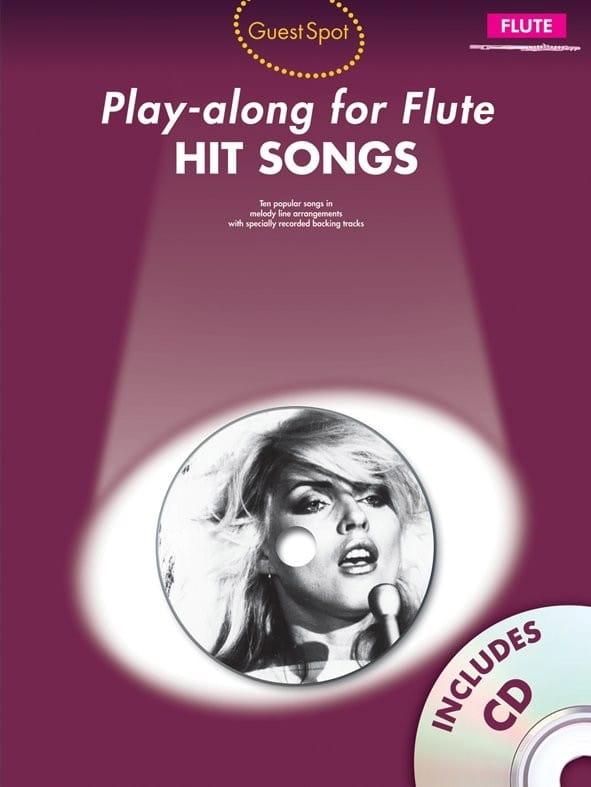 Guest Spot - Hit Songs Play-Along for Flute - laflutedepan.com