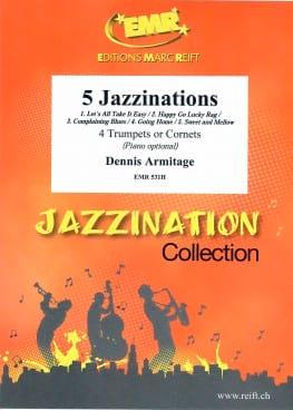 5 Jazzinations - Dennis Armitage - Partition - laflutedepan.com