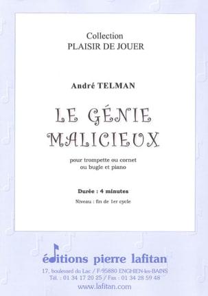 Le génie malicieux André Telman Partition Trompette - laflutedepan