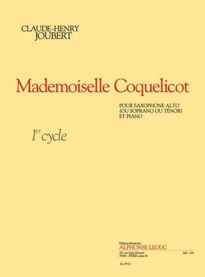 Mademoiselle Coquelicot - Claude-Henry Joubert - laflutedepan.com