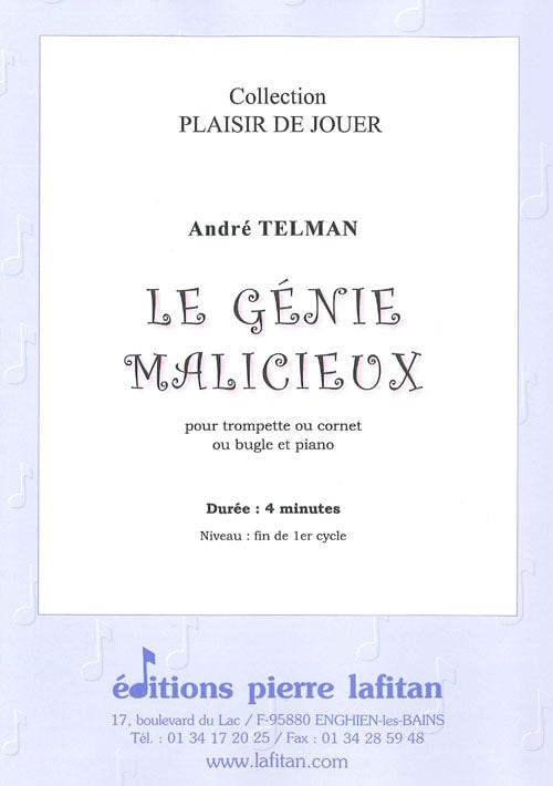 Le génie malicieux - André Telman - Partition - laflutedepan.com