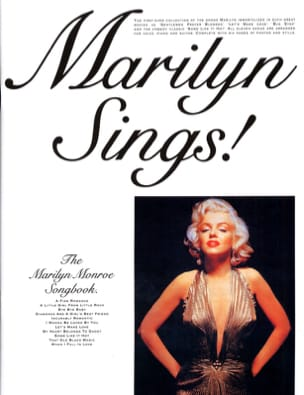 The Marilyn Monroe Songbook Marilyn Monroe Partition laflutedepan