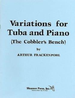 Variations For Tuba And Piano - Arthur Frackenpohl - laflutedepan.com
