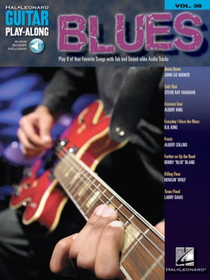 Guitar Play-Along Volume 38 - Blues Guitar Partition laflutedepan