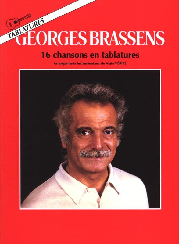 16 Chansons En Tablatures - Georges Brassens - laflutedepan.com