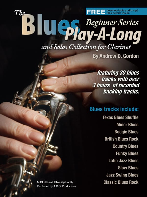 The Blues Play-A-Long and Solos Collection - Beginner Series - laflutedepan.com
