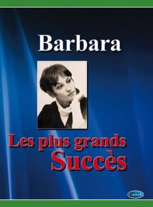 Les plus grands succès Barbara Partition laflutedepan