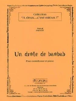 Un drole de baobab Pascal Proust Partition Tuba - laflutedepan