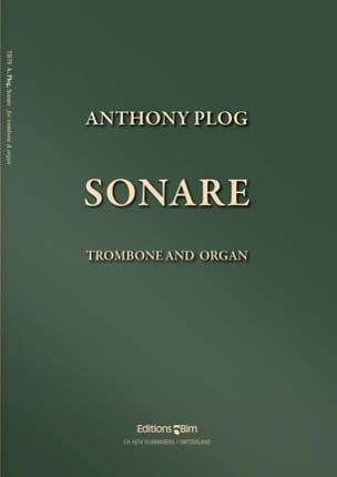 Sonare - Anthony Plog - Partition - Trombone - laflutedepan.com