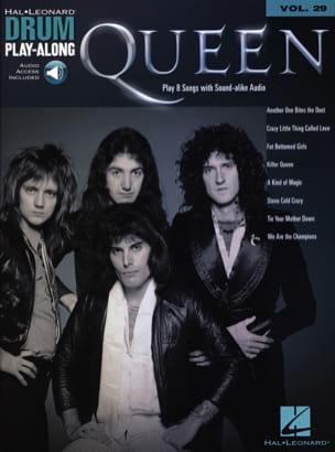 Drum Play-Along Volume 29 - Queen Queen Partition laflutedepan