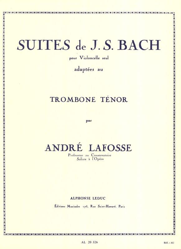 Suites - BACH - Partition - Trombone - laflutedepan.com