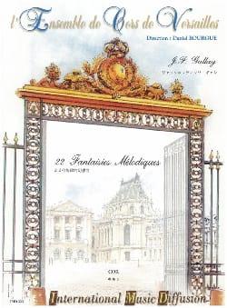 22 Fantaisies Mélodiques Opus 58 Jacques-François Gallay laflutedepan